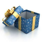 Gift boxes over white background — Foto de Stock