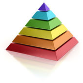 Abstract pyramid — Stock Photo
