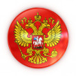 Stock Photo: Russian coat of arms - badge