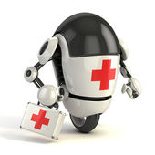 Robot medic — Stock Photo
