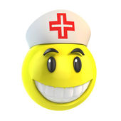 Smiley nurse — Stock Photo