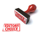3d stamp editors choice — Stock Photo
