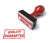 3d stamp quality guarantee — Stock Photo