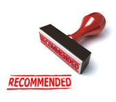 3d stamp recommended — Stock Photo