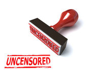 3d stamp uncensored — Stock Photo