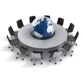 Global politics, diplomacy, strategy, environment, world leadership 3d concept — Stock Photo