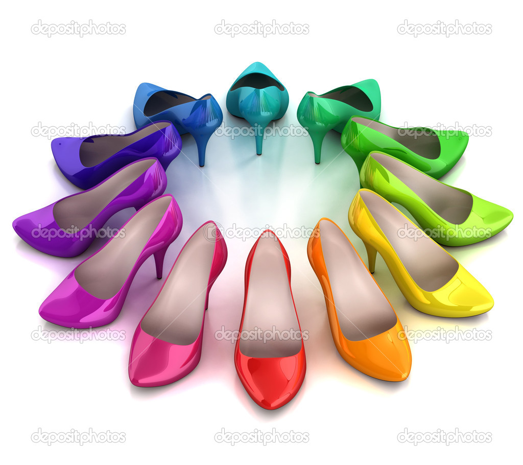 colorful womens shoes stock photo 169 koya979 9976834