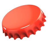 Red bottle cap — Stock Photo