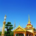 The Royal Crematorium (Phra Men) At Bangkok Thailand — Stock Photo #10206749