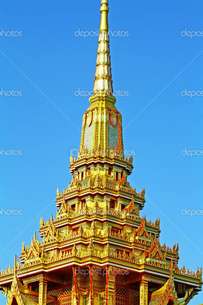 Meru is building a rectangular recess and twelve. Buddha's conversion.  — Stock Photo #10207678