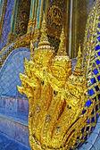 The Golden Nagas at Wat Phra Kaew — Stock Photo