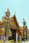 Two Giant at Wat Phra Kaeo, Bangkok — Stock Photo