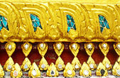 Thai art at Wat Phra Kaew — Stock Photo