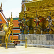 Vtew of Wat Phra Kaew — Stock Photo
