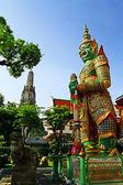 Demon at Wat Arun. — Stock Photo