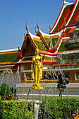 Buddharupa at Wat Arun — Stock Photo