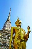Wat arun, altın buddharupa — Stok fotoğraf