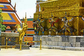 Vtew of Wat Phra Kaew — Stock Photo