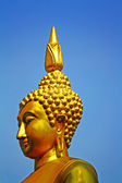 Golden Buddharupa — Stock Photo