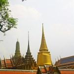 The Wat Phra Kaew or Grand Palace — Stock Photo