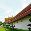 Stock Photo: View of Wat PhrKaew