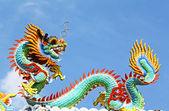 Kinesisk drake — Stockfoto