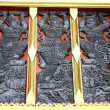 Thai art on window. — Stock Photo