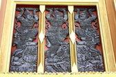 Thai art on window. — Stock Photo