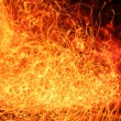 Fire abstraction - Stock Photo