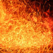 Stock Photo: Fire abstraction