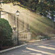 Sunbeam from the arch — Stock Photo