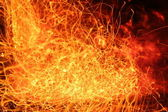 Fire abstraction — Stock Photo
