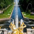 Stock Photo: Fountains at Petergof