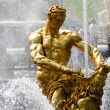 Stock Photo: Fountains at Petergof. Samson