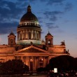 St. Isaac's Cathedral at night — Stock Photo #9934187
