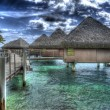 Stock Photo: Tahiti Huts