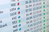 Marknaden prestanda — Stockfoto