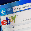 Ebay Website — Stock Photo #9443512