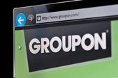 Groupon Website — Stock Photo