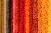 Colored carpet — Stock Photo