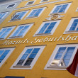 House where Mozart was born, Salzburg, Austria — Stock Photo