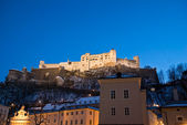 Castle Hohensalzburg, Salzburg, Austria — Stock Photo