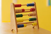 Coloured wooden abacus — Stock Photo