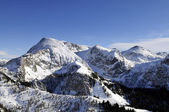 Panoramic view from the mountain Jenner. — Stock Photo