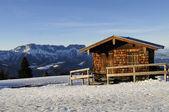 Alpine Hut — Stock Photo