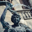 The Fischbrunnen at Marienplatz in Munich, Germany — Stock Photo