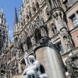 Munich City Hall — Stock Photo