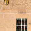 Window and wall lamp — Foto de stock #9695747