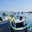 Maltese fishing boats — Stock Photo