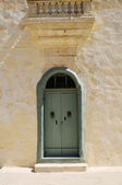 Maltese door — Stock Photo